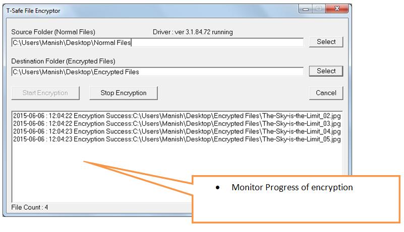 monitor encryption