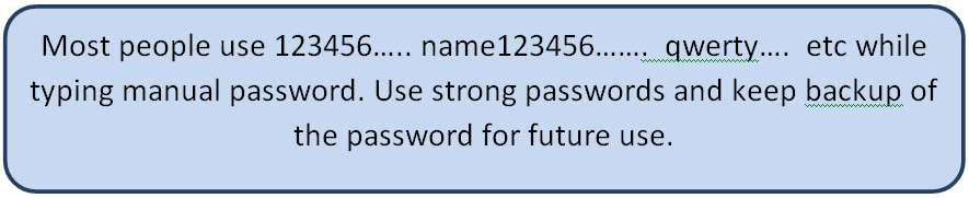 common password examples