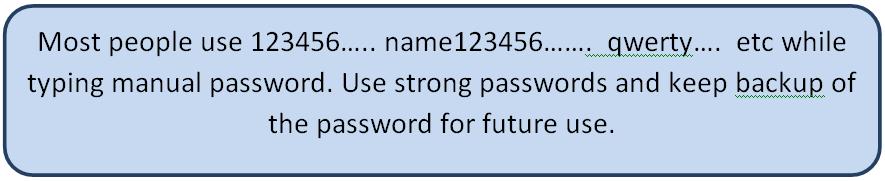 common password examples